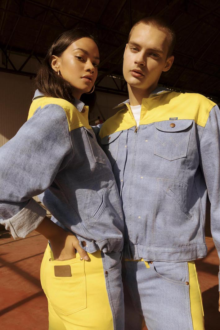 Wrangler - SS19 Blue&Yellow - Genderless